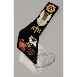 A017 Rose Croix 30th Degree Sash Hand Embroidered