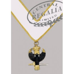 A024 Rose Croix 31st Collarette White/gilt