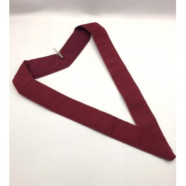 Athelstan Court Collar Crimson  Plain