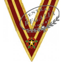 Athelstan Grand Lodge Collar  - Hand Embroidered Emblem