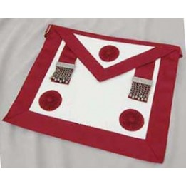 C041 Craft Prov Stewards - Standard Quality- Apron With Rosettes (no Badge)