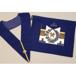 C054 Craft Grand Lodge  Apron & Collar
