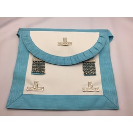 (spain) Craft Wm Apron Lambskin Pocket (round Bib)