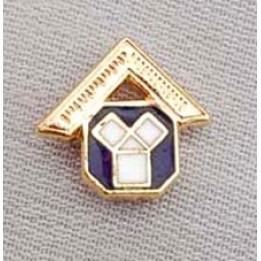 G139 Craft Lapel Pin Enamel Past Master Motif