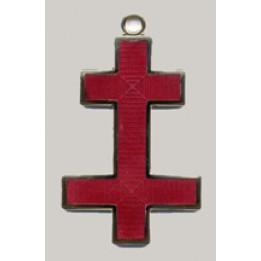 K035 Kt Preceptors Cross Jewel For Collarette   (active)