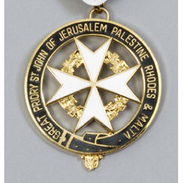 K059 Knights Malta Great Priory Collarette Jewel
