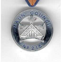 L014 Allied Wm. Collarette Jewel -  Name & No. Of Councul