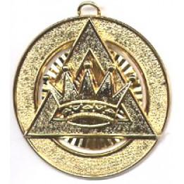 R015 Royal Arch Ipz Collar Jewel Metal Gilt