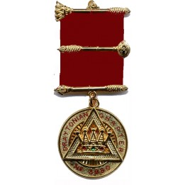 R019 Royal Arch Pz Breast Jewel As R017 With Name & Number Of Chapter