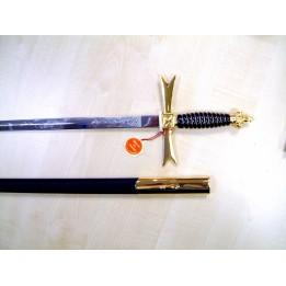 Z030 Osm Sword & Scabbard Purple